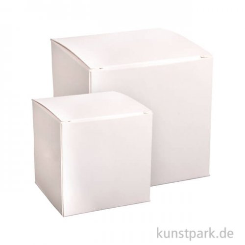 Faltschachtel Set - Weiß