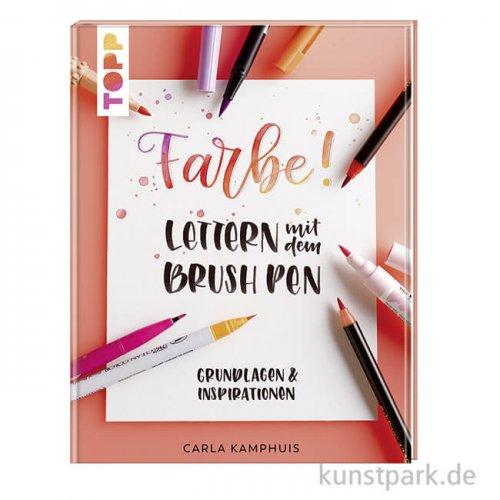 Farbe! Lettern mit dem Brush Pen, Topp Verlag
