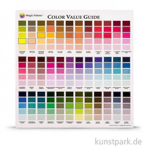 Farbkomponist Magic Palette Colour Guide 29 x 29 cm