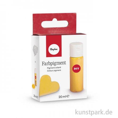 Farbpigment in Pulverform 20 ml | Goldgelb