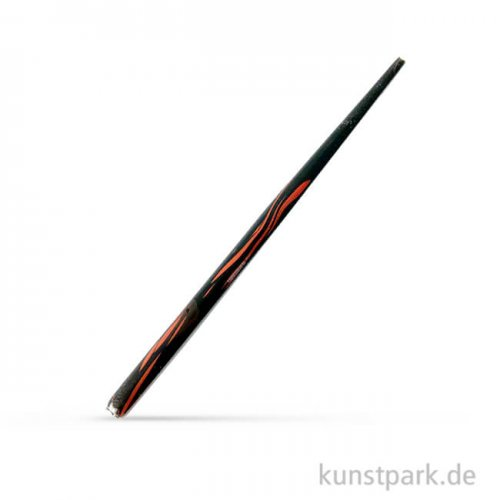 Kalligrafie-Federhalter geflammt, Schwarz-Rot