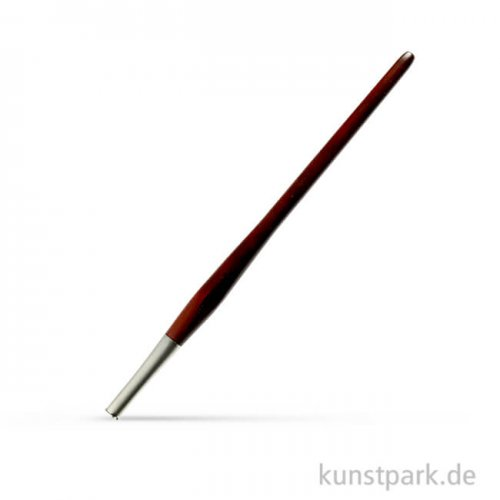 Kalligrafie-Federhalter Nussbraun Metallic