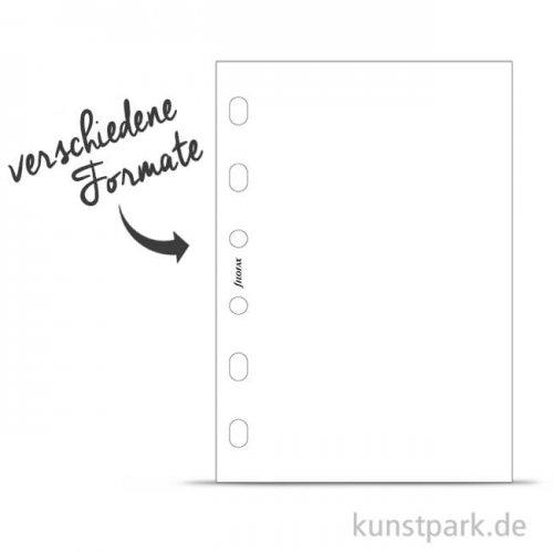 FILOFAX Einlagen - Blanko Weiß, 30 Stück, 70g