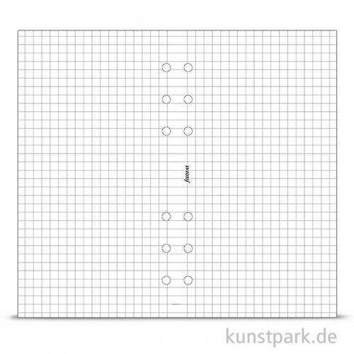 FILOFAX Einlagen - Kariert Weiß, 20 Stück, 70g Personal