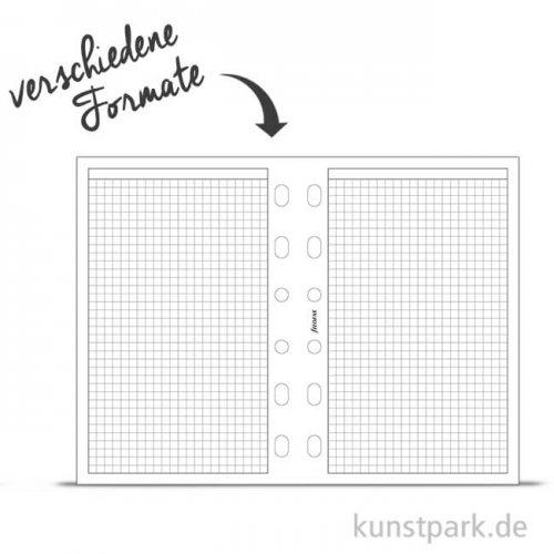 FILOFAX Einlagen - Kariert Weiß, 20 Stück, 70g