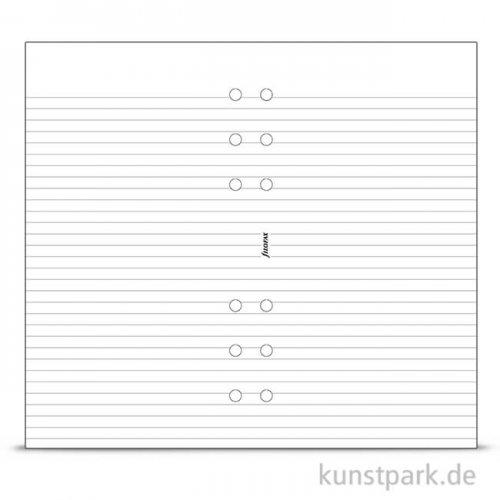 FILOFAX Einlagen - Linien Weiß, 70g Personal