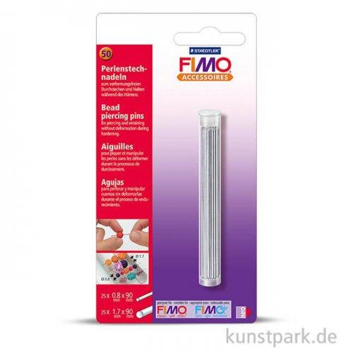 FIMO Perlenstechnadeln, 50 Stück sortiert