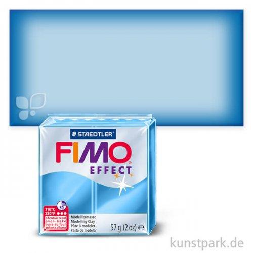 FIMO Transluzentfarben Effekt 57 g Einzelfarbe | Blau transparent