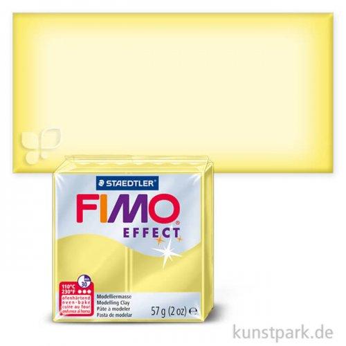 FIMO Transluzentfarben Effekt 57 g | Gelb transparent