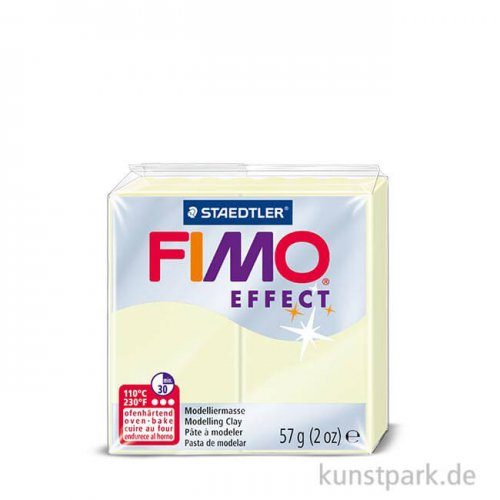 FIMO Nachtleuchtfarben Effekt