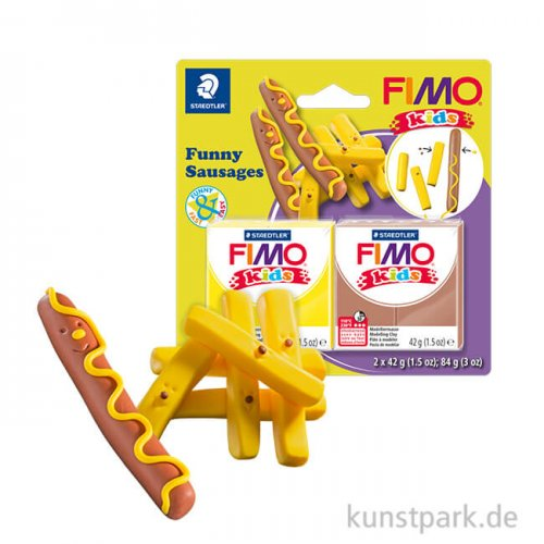 FIMO Kids - Funny Sausages