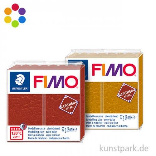 FIMO Leder Effekt