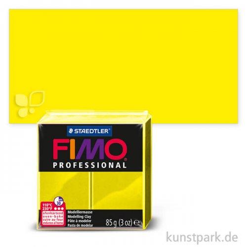 FIMO Professional Einzelfarben 85 g Einzelfarbe | Zitronengelb
