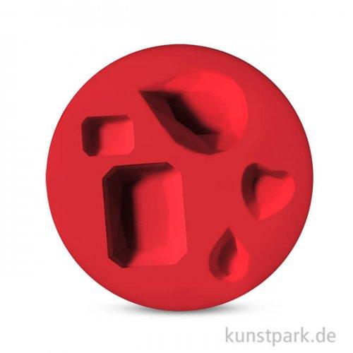 FIMO Silikon-Motivform - Edelsteine