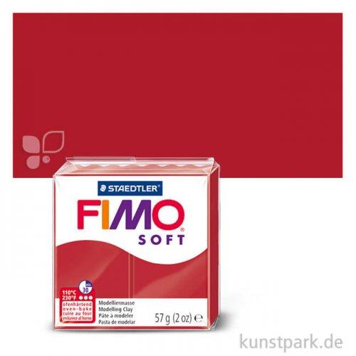 FIMO soft Einzelfarben 57 g Einzelfarbe   Weihnachtsrot