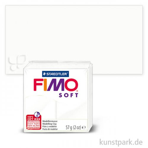FIMO soft Einzelfarben 57 g Einzelfarbe | Weiß