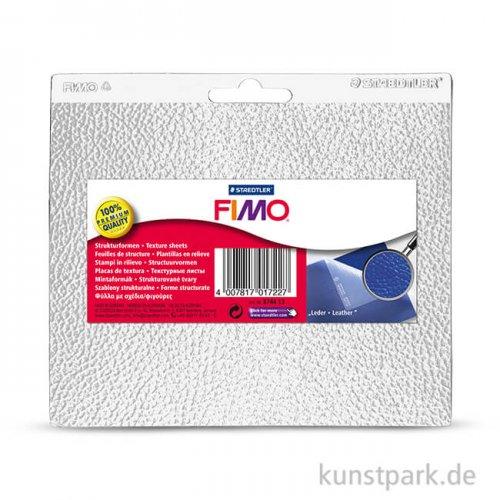 FIMO Strukturform - Leder