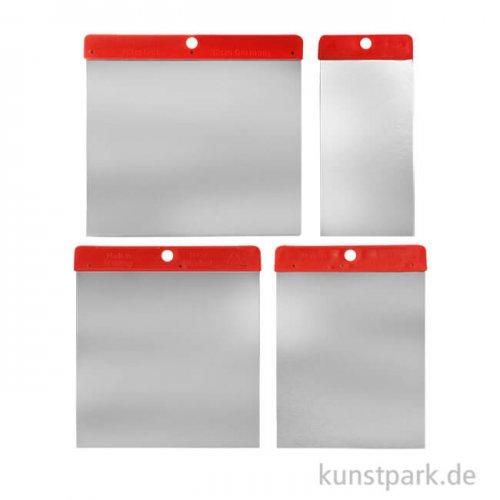 Flächenspachtel-Set - 4 flexible Spachtel aus Metall