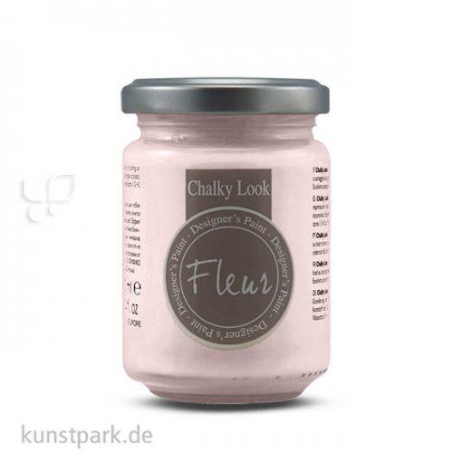 FLEUR Chalky Look 130 ml Einzelfarbe   Pink Rococo