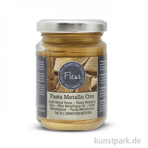 FLEUR Metal Paste Gold 130 ml