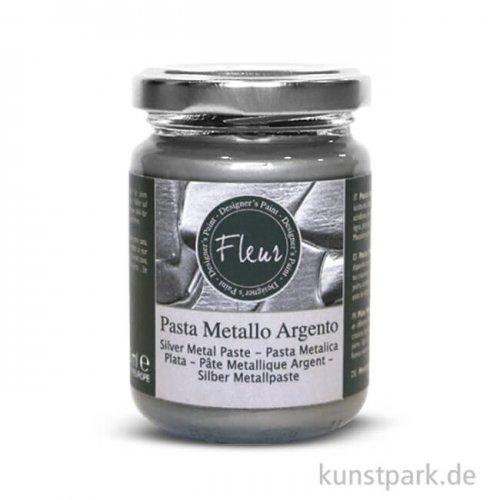 FLEUR Metal Paste Silver 130 ml