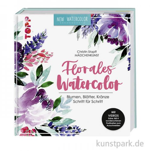 Florales Watercolor, Topp Verlag