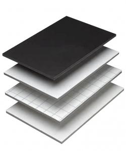 Foamboard Leichtstoffplatten 10 mm, Weiß 12 Stk