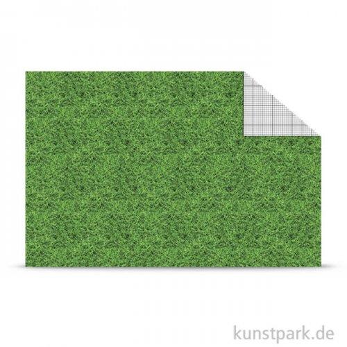 Fotokarton Modellbau - DIN A4 300 g | Rasen