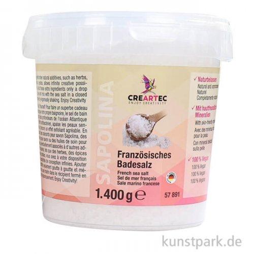 Französisches Badesalz - naturell 1400 g