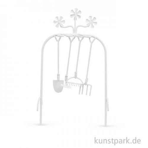 Mini Gartenwerkzeug - Elfenbein, 15,5 cm