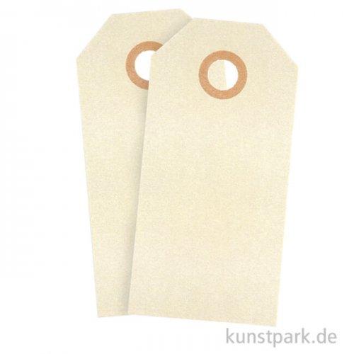 Geschenkanhänger aus Pappe - Natur