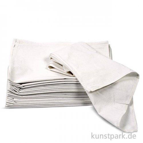 Geschirrtuch aus Baumwolle - Weiß, 50x70 cm, 70 g, 5 Stück