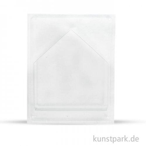 Gießform - Haus, Tiefe 4 cm 16,5 x 17,5 cm