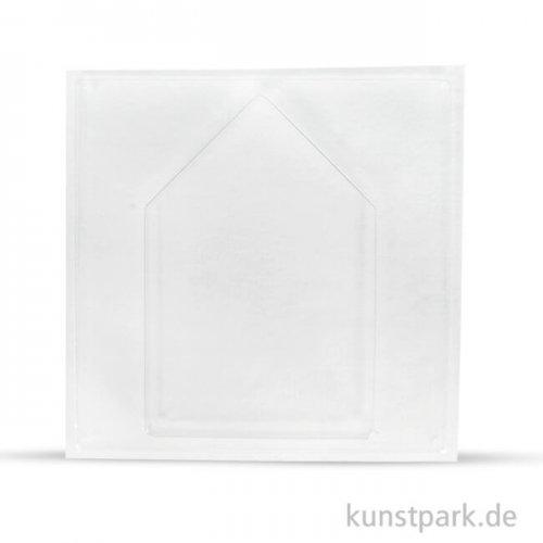 Gießform - Haus, Tiefe 4 cm 16 x 23,5 cm