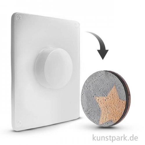 Gießform - Kreis - Motivgröße 5,5 x 1,7 cm