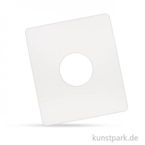 Gießformenhalter für Latexformen, Ausschnitt 8 cm