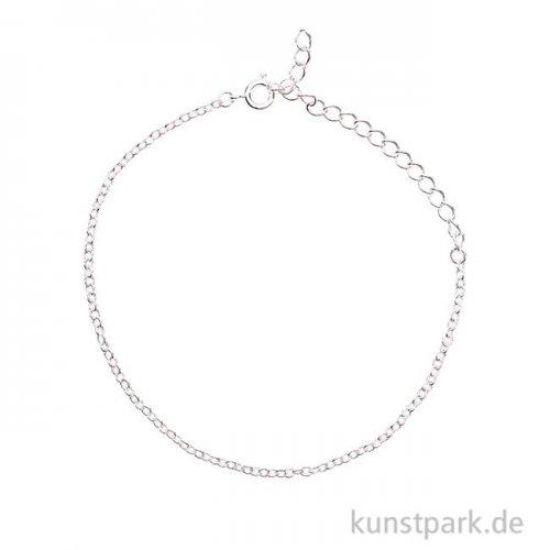 Gliederarmband fein - Silber