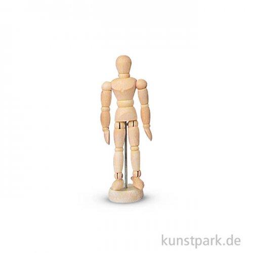 Gliederpuppe Zwerg aus Holz, 11 cm