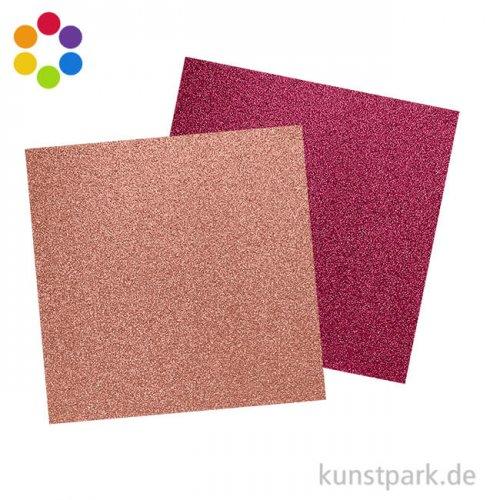 Glitter - Scrapbookingpapier, 200 g
