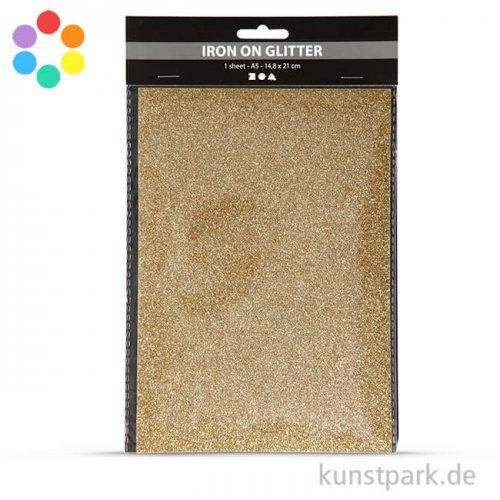 Glitter Transferfolie zum Aufbügeln DIN A5