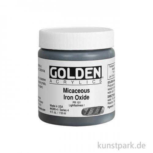 GOLDEN Acryl 119 ml - 4080 Irisierendes Eisen-Oxid
