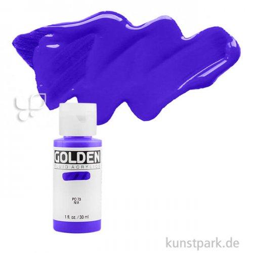 GOLDEN Fluid Acrylfarben 30 ml   2260 Phtaloblau rotton