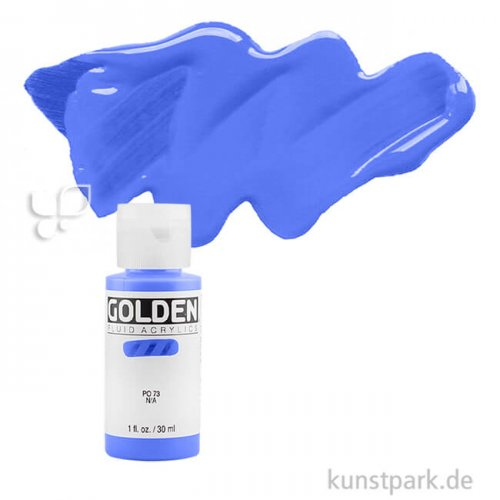 GOLDEN Fluid Acrylfarben 30 ml | 2420 Primärcyan