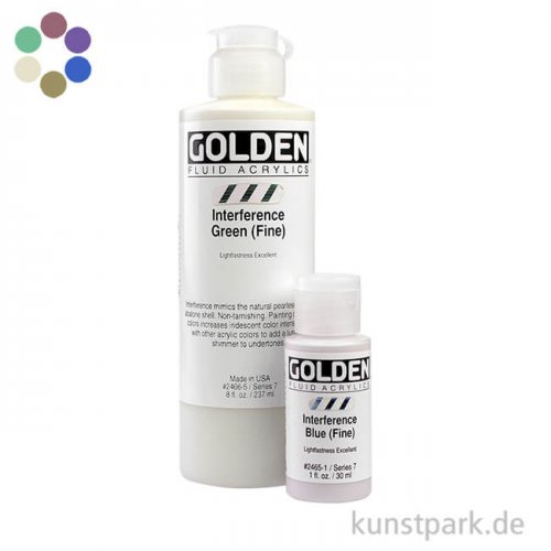 GOLDEN Fluid Interferenzfarben