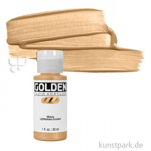 GOLDEN Fluid Metallfarben 30 ml Flasche | 2455 Gold Tief (fein)