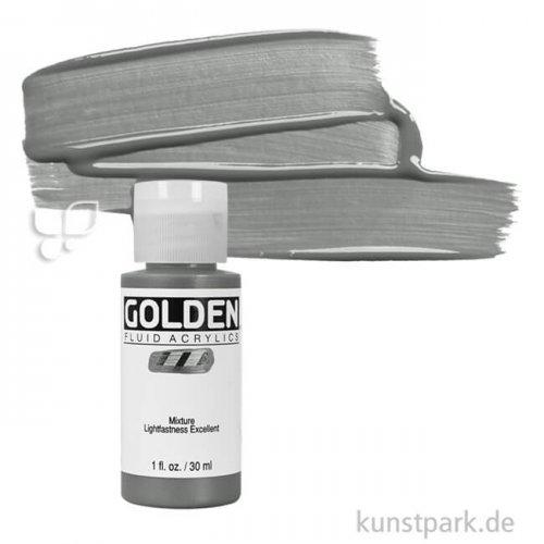 GOLDEN Fluid Metallfarben 30 ml Flasche | 2458 Edelstahl (rauh)