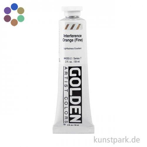 GOLDEN Heavy Body  Interferenzfarben 60 ml
