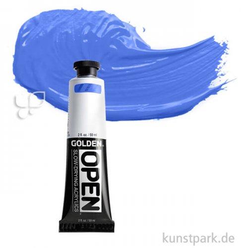 GOLDEN Open Acrylfarben 60 ml | 7050 Cerulean Blue Chronium