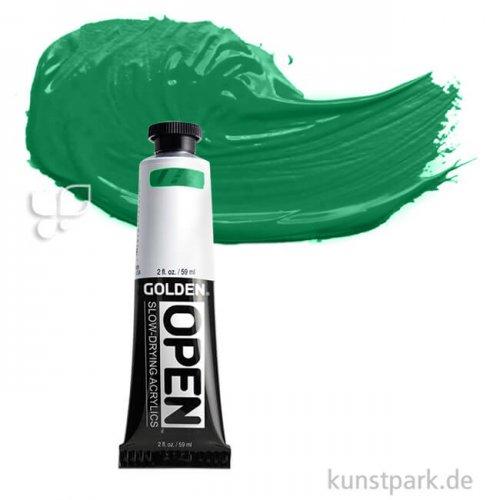GOLDEN Open Acrylfarben 60 ml | 7270 Phtalo Green Blue Shade