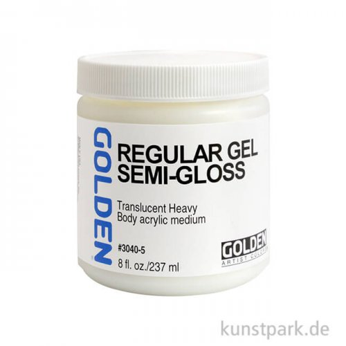 GOLDEN Pasten 236 ml - 3040 Regular Gel (seidenglänzend)
